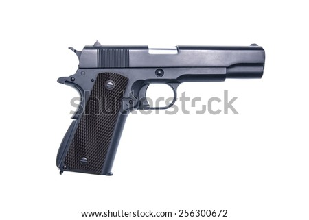 gun - stock photo