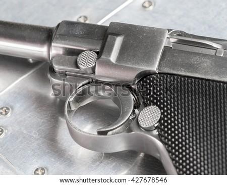 gun trigger - stock photo
