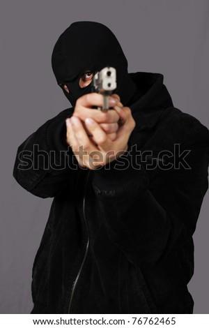 gunman - stock photo