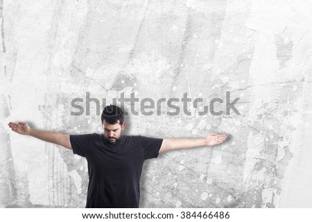 Guy with cross arms