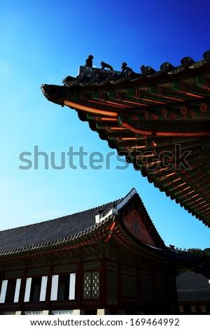 Gyeongbokgung Seoul - stock photo