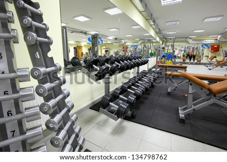 gym - stock photo