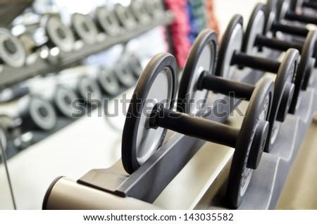 Gym fitness center - stock photo