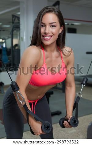 gym mashine - stock photo