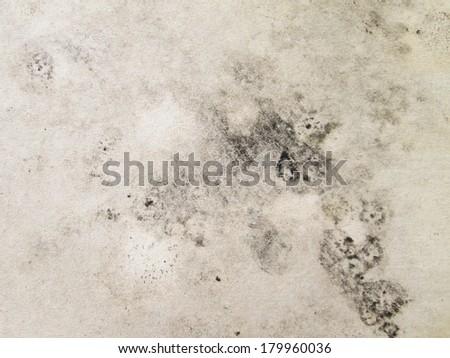 Gypsum dirty old - stock photo