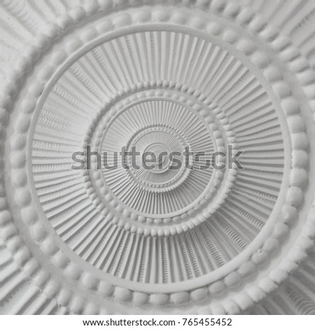 Decorative Plaster Moulding Stock Images, Royalty-Free