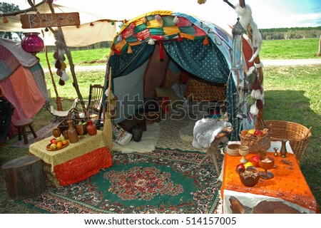 Gypsy Tent & Gypsy Tent Stock Photo 514157005 - Shutterstock