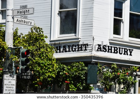 Haight Ashbury District of San Francisco