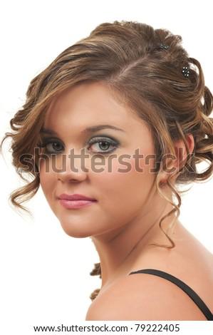 Hair and Make up - stock photo