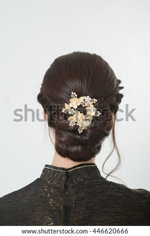 hair bride wedding style hairstyle