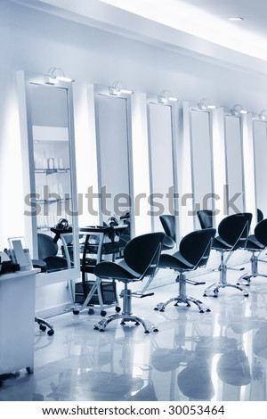 Hair salon - stock photo
