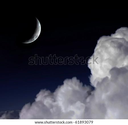 Half moon6 - stock photo