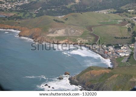 Half Moon Bay, California - stock photo