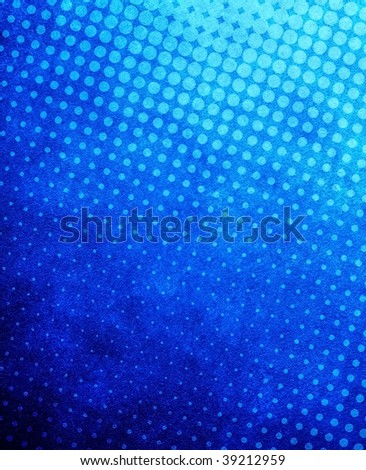 halftone pattern paint background - stock photo