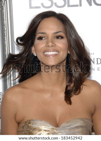 Halle Berry at 2nd Annual ESSENCE Black Women In Hollywood Luncheon, Beverly Hills Hotel, Los Angeles, CA 2/19/2009  - stock photo