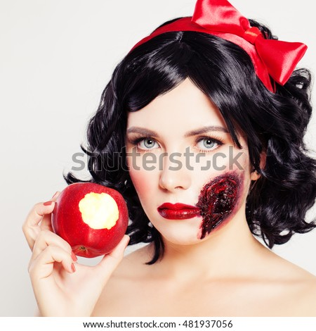 Halloween Make Up Stock Images Royalty Free Images - Artistic Halloween Makeup