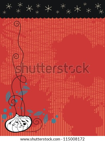 Halloween background with space for your text - stock photo