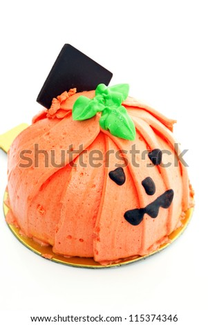 Halloween cake - stock photo