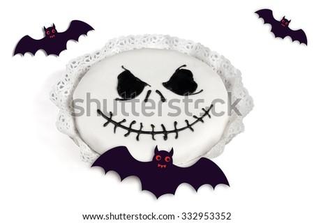halloween ghost - stock photo