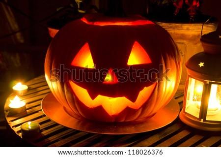 Jack-o-lantern Stock Images, Royalty-Free Images & Vectors ...