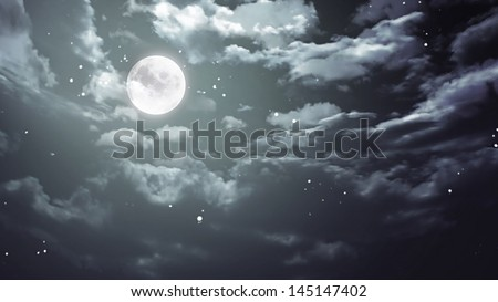 Halloween moon background is suitable for Halloween concept graphic design and backdrop background.