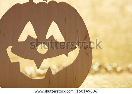 Halloween pumpkin - stock photo