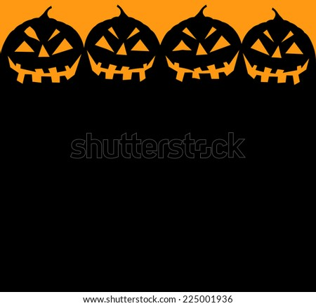 halloween-pumpkin-background-for-halloween-party-invitation-with-copy-space