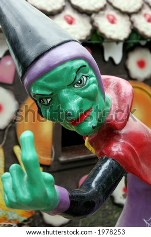 Halloween witch. - stock photo