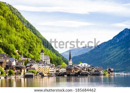 Hallstatt, Upper Austria, Austria - stock photo