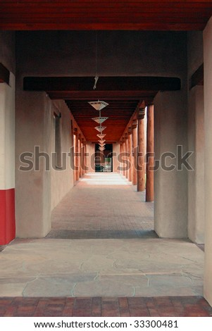 Hallway - stock photo