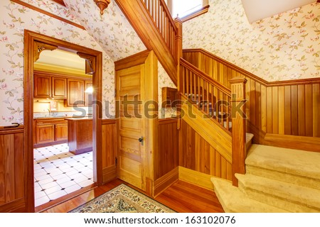 The Servants Used A Separate Staircase A Small Kitchen Was Used For
