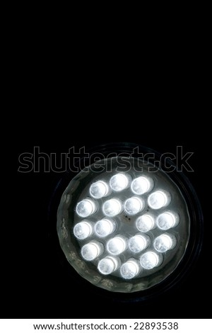 Halogen replacement LED - stock photo