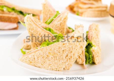 Triangle Sandwich Stoc...