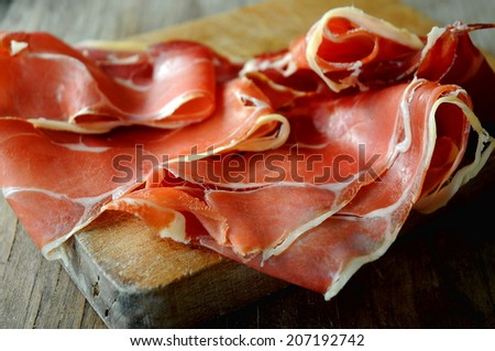 ham in spain - stock photo
