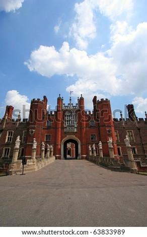 Hampton Court Palace, London, England - stock photo