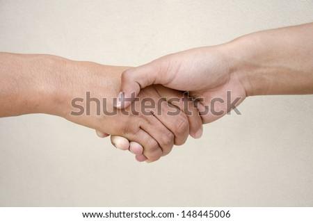 hand Clutch - stock photo
