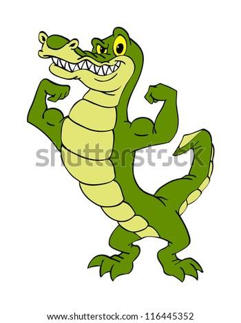 Cartoon Alligator Stock Images, Royalty-Free Images ... - photo#24
