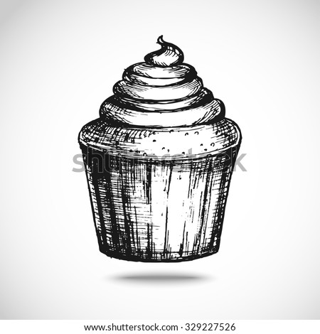 Sketch Cakes Stock Images, Royalty-Free Images & Vectors ...