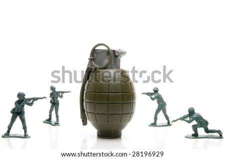 Hand Grenade - stock photo