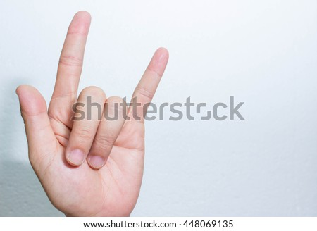 Hand Hand Meaning Symbol Hands Stock Photo Edit Now 448069135