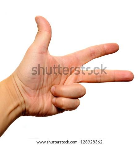 three fingers handwriting analysis