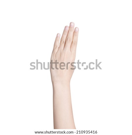 hand isolated