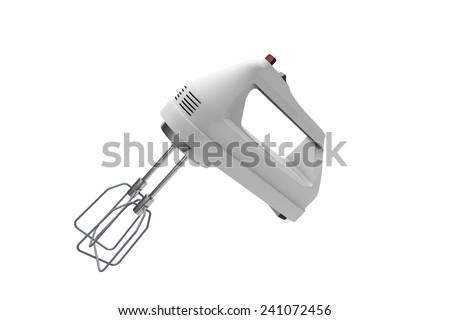 Hand Mixer - stock photo