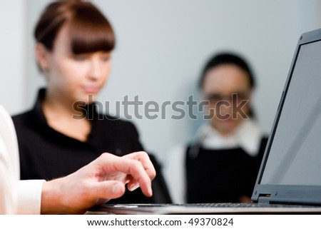 Hand of men and girl - stock photo