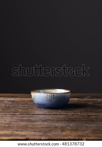 Hand-painted ceramic cup