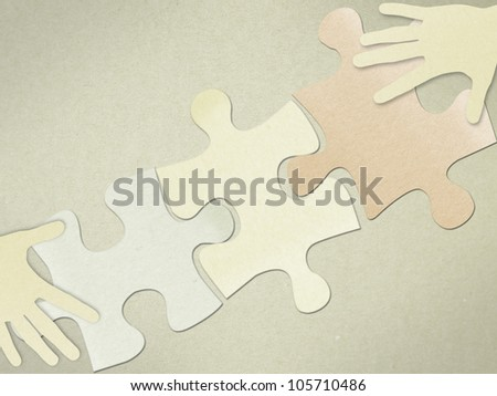 Hand play puzzle