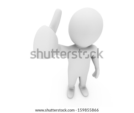 Hand Shaped mouse Cursor thumb up like man facebook share good social media share 3d symbol icon button - stock photo