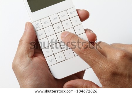 Hand to calculate