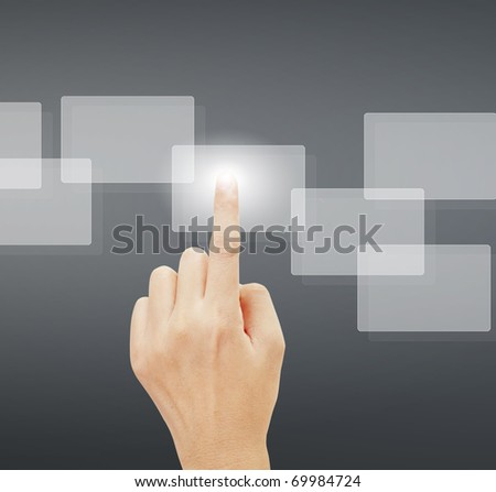 hand Touch screen
