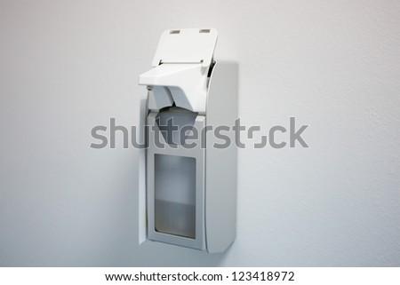 hand wash dispenser - stock photo